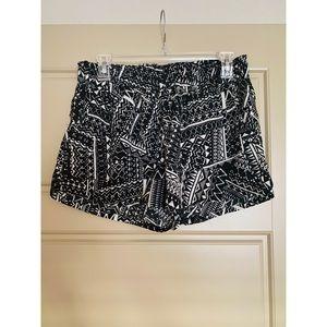 BE BOP Aztec print shorts